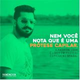 comprar prótese capilar masculina lace São José do Vale do Rio Preto