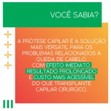 próteses capilares femininas cacheada Copacabana